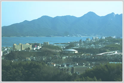宮島SAからの眺め