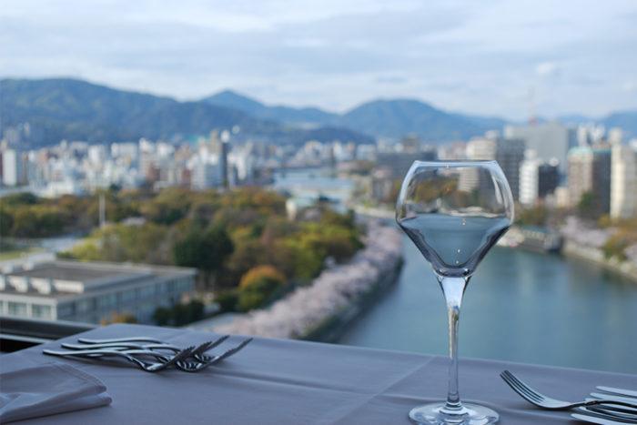 ホテルサンルート広島 15階レストラン(西洋フード・コンパスグループ(株))